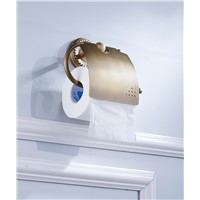 Wholesale and roll toilet paper rack  Wall Mount Rack antique tissue /towel rack bathroom accessories 7825