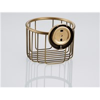 Frees shipping european style antique paper holder box paper basket paper box net for bathroom 7805