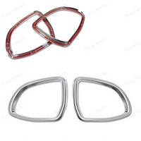 for B/MW X5 X6 F15 F16 2014 2015 2016 auto accessories 2pcs Car Rearview Mirror Cover decoration Trim