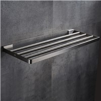 AUSWIND modern 304 stainless steel bathroom towel rack bathroom shelf towel rack wall mount bathroom products 40/50/60cm