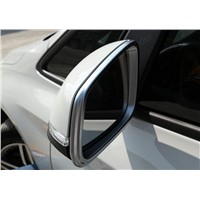 ABS chrome rear view door mirror cover trim protector molding garnish for B/MW 2 Series 218i 2014 2015 2016