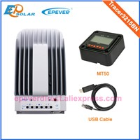 Solar battery charger controller Tracer3215BN with USB cable 30A 30amp MT50 remote meter 12v 24v
