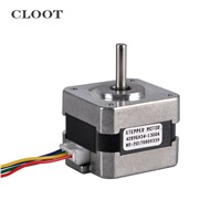 42BYGH34 1300A Stepper Motor Hybrid Two Phase CNC Stepper Motor For Milling Machine Tools