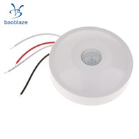 Surface Mount Infared Sensor Switch PIR Body Motion Activated Light Lamp Auto Switch 220V