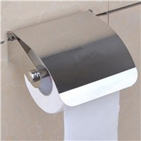 Stainless Steel Toilet Paper Holder Tissue Paper Holder Box Holder Roll Bathroom Accessories
