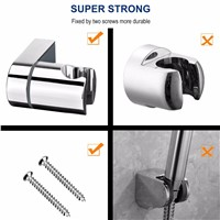 ARTBATH ABS Chrome Shower Head Holder Adjustable 18-25MM O.D. Bathroom Shower Bracket Rack Slide Bar Bathroom Faucet Accessorie