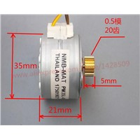 2 Phase 4 wire Mini screw rod stepper motor DIY car model circular stepper motor  NMB 35 lead screw stepper motor