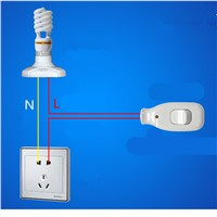 A control switch button with lamp switch power supply line button switch Mini bedside lamp