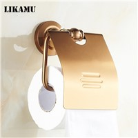 Toilet paper holder Paper Holders Antique Finish Paper Roll Holder Wall Mounted Bathroom Accessories