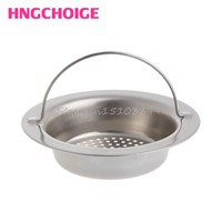 Kitchen Sink Strainer Waste Plug Drain Stopper Filter Basket Stainless Steel Drop Ship