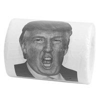 Donald Trump Humour Toilet Paper Roll Novelty Funny Gag Gift Dump with Trump Drop Ship