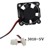 1pcs 3010Fan 3010 Mini Fan 5V 30x30x10mm 2-Pin Computer PC VGA Video Heat Spread Cooler Cooling Fan for stepper motor