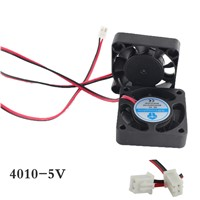 1pcs 4010Fan 4010 Mini Fan 5V 40x40x10mm 2-Pin Computer PC VGA Video Heat Spread Cooler Cooling Fan for stepper motor