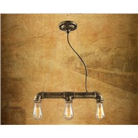 Vintage pendant light American Country Style E27/E26 socket cement lamp holder indoor Decoration Hanging light fixture