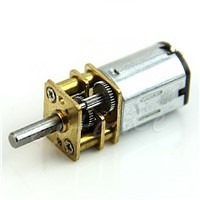 6V 100RPM Mini DC Metal Gear Motor with gearwheel Model N20 3mm Shaft Dia Slowdown Motor Gear #S018Y# High Quality
