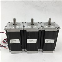 Nema 23 Stepper Motor 3A 2 Phase Shaft 8mm Motors 1.8 degree 112mm 2.8NM/ 400oz.in Motor for CNC Cutting Machines