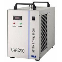 Wuhan bcxlaser Water-cooled industrial chiller cw5200 water industrial chiller