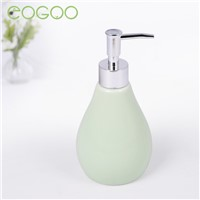 Eogoo Ceramics Bathroom Sets Colur Four-piece 2 cups and 1Toilet soap Box 1 Liquid Bottle Continental Cups bathroom set