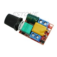 Mini DC Motor PWM Speed Controller 3V-35V Speed Control Switch LED Dimmer 5A  -Y122