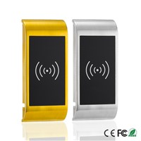 Zinc Alloy Metal electronic door lock Digital Locker Lock Cabinet Door With Single Card Mode Or Double Card Mode