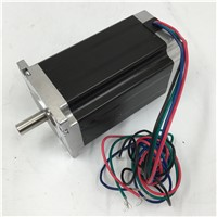 Nema 24 Stepper Motor 4A 2 Phases 90mm Motors for CNC Cutting Machine 1.8 degree 2.6NM/ 371oz.in Motor Rabbet 50mm installation