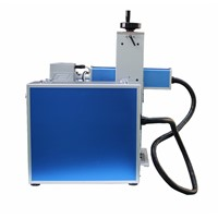 20w mini protable tabletop laser marking machine laser printing machine with raycus max IPG laser source lowest price