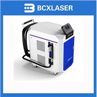 200/500 watt fiber metal laser cleaning machine for rust removing