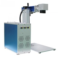 fiber laser marking machine price for stainless steel 30W color metal laser printing machine