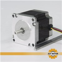 ACT unipolar nema 23 stepper motor  1.26n.m(178oz-in)  56MM / 2A     Direct selling