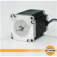 4-lead  nema 23 stepper motor 76mm 270oz-in with support driver 128 micsteps CNC