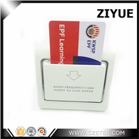 13.56mhz M1 Card l RF energy saving switch for hotel power saving hotel switch with card
