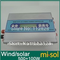 Hybrid Solar Wind Charge Controller 500W+100W, wind charge controller, regulator
