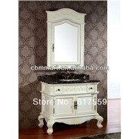 white bathroom sanitary cabinet 0281