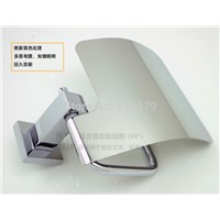 Square brass paper holder bathroom hardware accessories