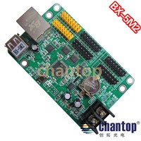 BX-5M2 ethernet + USB communication LED board display module controller system network RJ45 interface single&dual color support