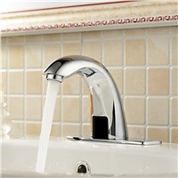 BAKALA automatic sensor tap contemporary New  for toilet Brass Chromed cold with sensor water tap bathroom F-201