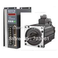 AC servo motor with new driver 1.8kw for cnc machine tool  servo motor drive