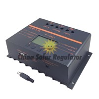 10pcs losts.80A Solar Controller PV panel Battery Charge Controller 12V 24V Solar system Home indoor use New