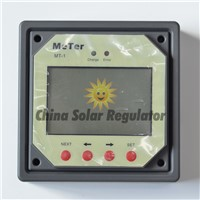 10pcs lots,10A daul battery Solar Charge Controller duo-battery charge controller with Remote LCD Meter MT-1 meter-1