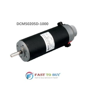 Leadshine Brushed DC Servo Motor DCM50205D-1000 24VDC 80W 3400rpm Differential 1000-Line Encoder Screw Mounted New