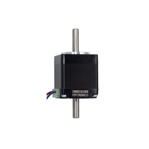 stepper motor Hollow double shaft NEMA11 28mm Hybird,2 phase 4 wire 3d printer accessories 28HB3302KB