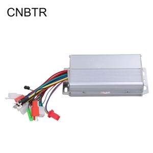 CNBTR Slivery  Aluminium 36V 500W 30A Electric Bike Electrocar Brushless Motor Controller for Scooters