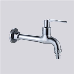Bibcocks Chrome Brass Washing Machine Cold Faucet Wall Mounted Tap Small Garden Use Faucet Outdoor Bathroom Taps ZJ-6203