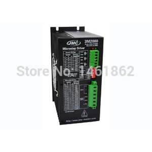 3M2080 Direct-On-Line 3 phase stepper motor driver 100-240V AC input resolution up to 12800 for NEMA 34 - NEMA52 motor