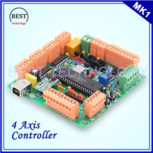 4 Axis USB CNC Controller CNC USB Interface Board USB CNC 2.1 MK1 MACH3 Upgrading Control Board !!