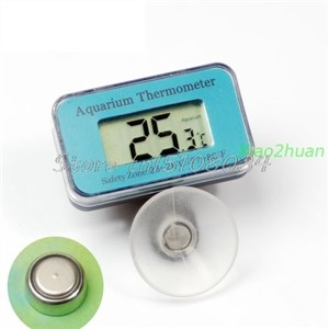 1PC Digital Submersible Fish Tank Aquarium LCD Thermometer #S018Y# High Quality