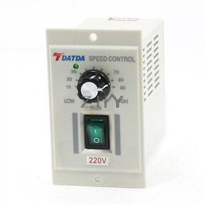 AC 220V Input DC 180V Output Green I/O 2-Position Switch Motor Speed Controller