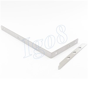 12 Inch Stainless Steel Bracket 2pcs 300mm x 155mm