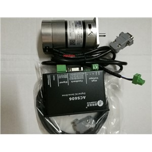 New Leadshine 90W Brushless servo drive ACS606 and Brushless motor BLM57090 -1000 Engine a set work 24VDC speed 3000RPM 0.87NM