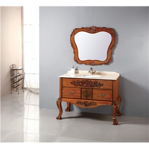 made in Foshan hot selling wooden bathroom cabinet